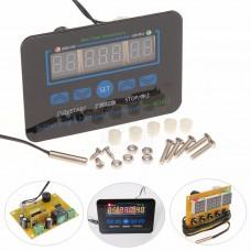 Termostat s časovačem, -20°C ~ +100°C, START - STOP, LED, NTC senzor, 12V, XH-W1411