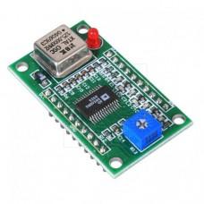 DDS generátor 0-40MHz, sinus, obdélník, AD9850