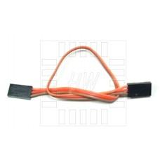 Plochý propojovací kabel 3 x 30cm, samice / samice
