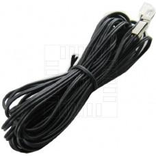 Voděodolný termistor NTC na kabelu 10m, 10K 3435, 1%, uchycení na očko