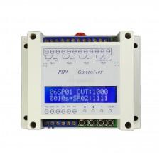 Čtyřnásobný programovatelný časový a napěťový spínač  0.1s ~ 9999m, 6V~40V DC, PTR4
