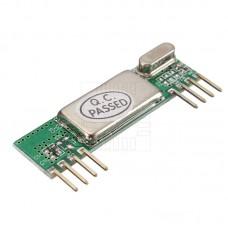 RXB6 433 MHz superheterodynní přijmač, 433.92MHz