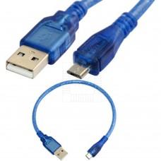 Kabel USB typ A  samice / USB mikro, MALE, 30cm