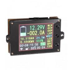 Bezdrátový indukční wattmetr DC - V, A, W, Ah, 0~500V, 0~200A, VAC-8010F-500V