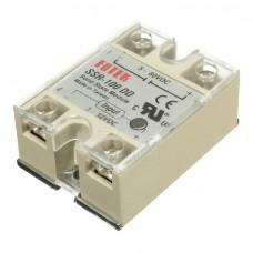 Elektronické výkonové SSR relé  SSR-100DD, 100A, 5V~60V DC
