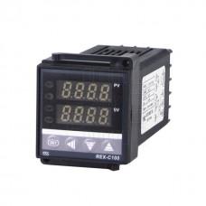 Digitální termostat REX-C100, 230V AC, model: REX-C100FK02-V*AN DN, RKC
