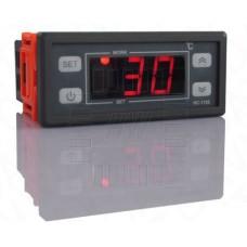 Digitální termostat RC-112,  -40°C ~ +99°C, LED, 1 výstup přepínací kontakt, senzor 1m, 230V AC
