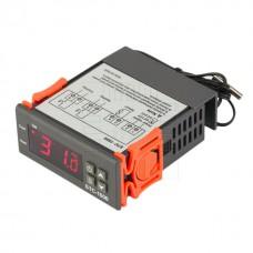 Digitální termostat STC-1000, -50°C ~ +99°C, LED, 2 výstupy, senzor 1m, 12V AC/DC