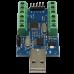 10 kanálový AD převodník, 12bit (0-4096), USB, UART, 3.3V