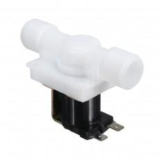 """Solenoid, elektromagnetický ventil, 1/2"""", 230V AC, přímý, plast, NC, V2"""