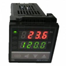 Digitální termostat REX-C100, Relé 3A, model: REX-C100FK02-M*AN DN, RKC