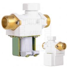 """Solenoid, elektromagnetický ventil, 1/2"""", 230V AC, přímý, mosaz, NC"""