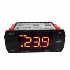 Digitální dotykový termostat STC-3000, -55°C ~ +120°C, LED, 1 výstup, 30A, ALARM, senzor 1m, 230V