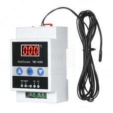 DIN termostat -45°C ~ +110°C, NTC senzor, 230V AC