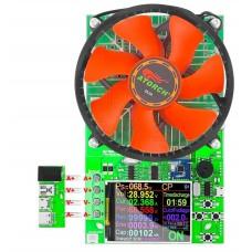 Elektronická zátěž 0.2 ~ 25A, 2 ~ 200V, 150W, 2/4W připojení, barevný LCD, bluetooth, DC, DL24