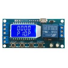 Programovatelný časovač 0.01s ~ 9999m, 5V~30V DC, TRIGER, UART, USB, XY-LJ02