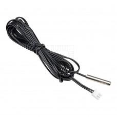 Voděodolný termistor NTC na kabelu 3m, 10K, B3950, 1%
