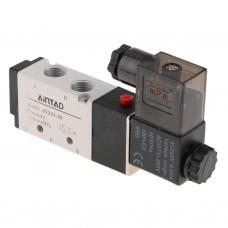 Elektromagneticky ovládaný rozvaděč vzduchu, pneumatický, 5/2 Way, 230V AC, 0.15 ~ 0.8 MPa, 4V210-08