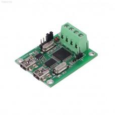 Převodník Wiegand na USB a RS232, pro RFID, WG2PS2, 1-44 bit