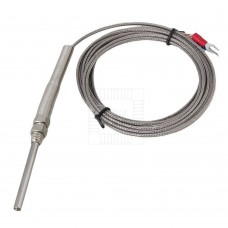 Teplotní čidlo, K typ, vertikální, 100°C ~1250°C, sonda 50mm, 3m