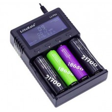 Univerzální LCD nabíječka baterií Lii-PD4 S1, LiFePO4, Li-ion, MiMH, NiCd, DC 12V / AC 230V, LiitoKala