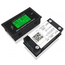 Panelový kapacitní multifunkční DC tester s bluetooth přenosem, 0~100A, 0~300V, 0~30kW, DC, DT3010