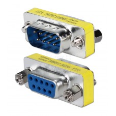 Mini spojovací konektor DB9 F / DB9 M, přímý, redukce