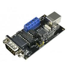 Převodník USB na RS232 / UART TTL / RS485 (FT232)