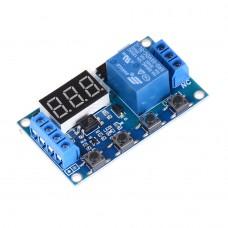 Programovatelný časovač 0.1s ~ 999m, 5V~30V DC, TRIGER, USB