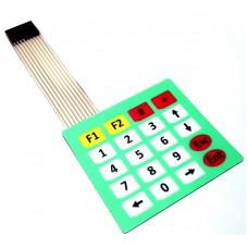 Samolepící membránová klávesnice 4 x 5