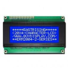 LCD  podsvětlený  4x20 znaků (modrá), 2004A