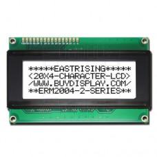 3.3V! LCD  podsvětlený  4x20 znaků (bílá), 2004A