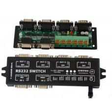 Aktivní rozbočovač RS232, 4 výstupy