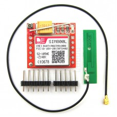 SIM800L, GSM modul s externí anténou