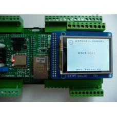 ARMOSY-2, Zobrazení textu a obrázku na UTFT, řadič ILI9325, 8bit, příklad