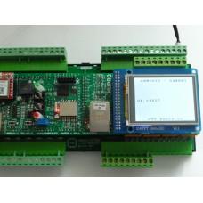 ARMOSY-2, GSM, ovládání SIM800 a zobrazení na UTFT, příklad