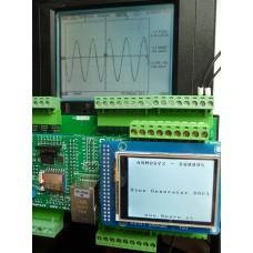ARMOSY-2, Generátor sinusového tónu DAC , příklad