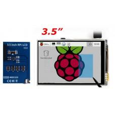 """3.5"""" Dotykový barevný displej, 320 x 480px pro Raspberry, 3:2"""