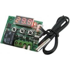 Digitální termostat -50°C ~ +110°C, LED, hystereze, NTC senzor, 12V, XH-W1209