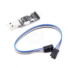 Převodník USB / RS232, CH340G, RTS, CTS, TTL +3.3V/+5V