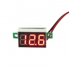 Panelové měřidlo - DC voltmetr 2.5V ~ 30V