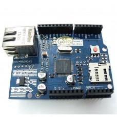 Ethernet Shield W5100 R3, slot SD,  podpora PoE